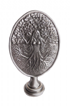 Green Woman Pewter Ornament - AO1